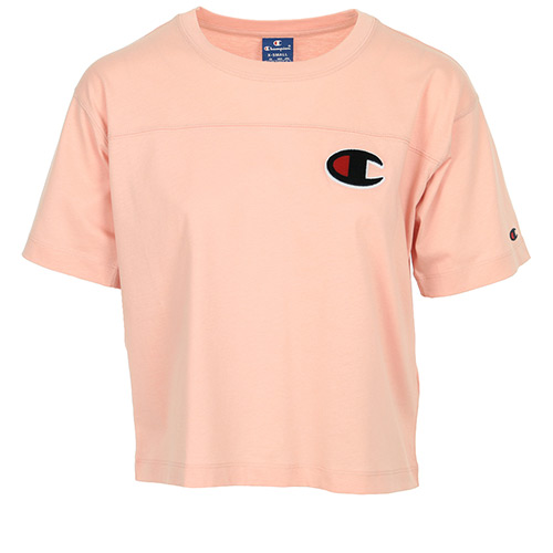 Champion Crewneck T-Shirt - Rose