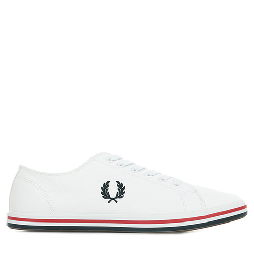 Fred Perry Kingston Twill - Blanc