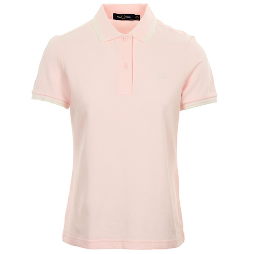 Fred Perry Twin Tipped Shirt Wn's - Rose