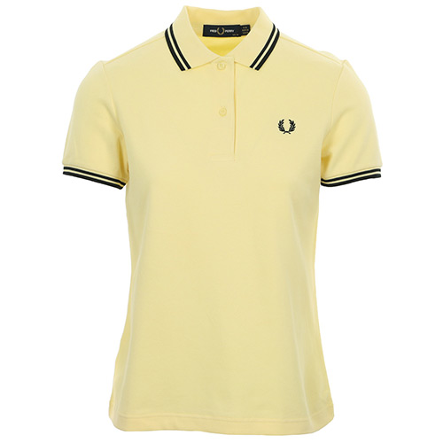 Fred Perry Twin Tipped Shirt - Jaune
