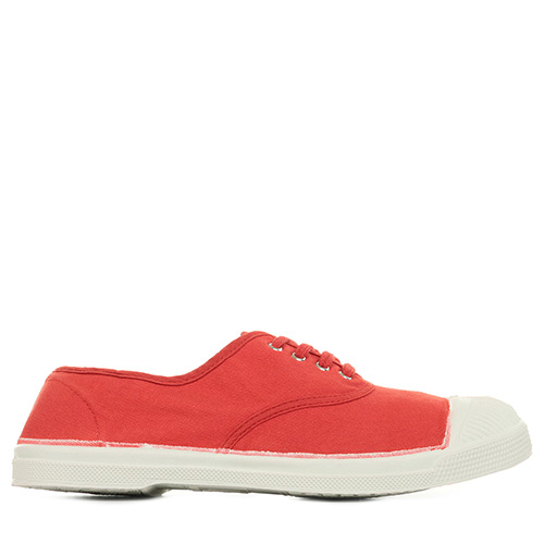 Bensimon Tennis Lacets - Rouge