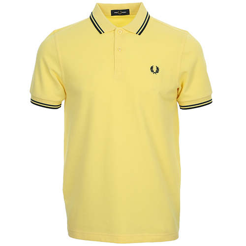 Fred Perry Twin Tipped Fred Perry Shirt - Jaune