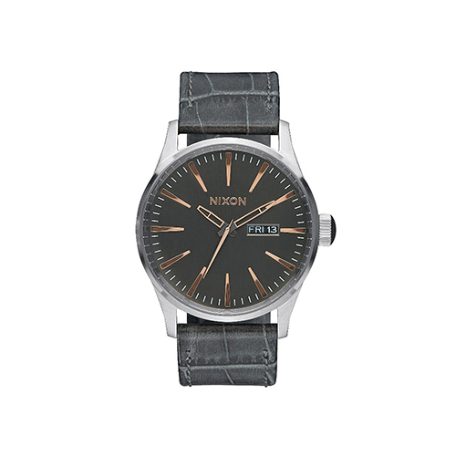 Sentry Leather Gray Gator