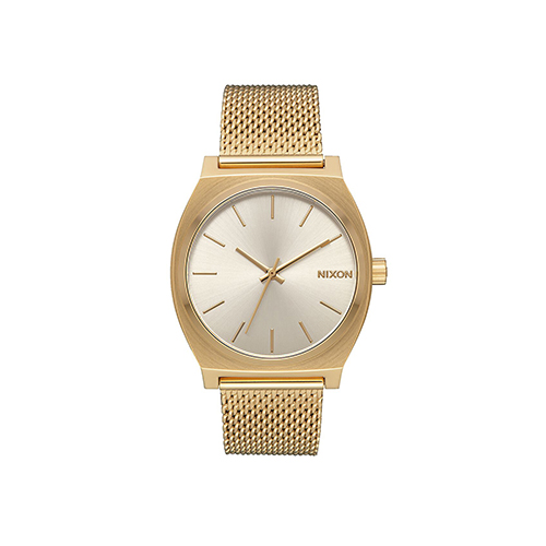 Time Teller Milanese All Gold Cream