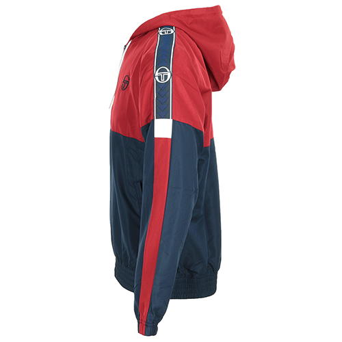 Sergio Tacchini Fingal Tracktop Navy/ Red