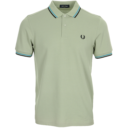 Fred Perry Twin Tipped Shirt - Vert
