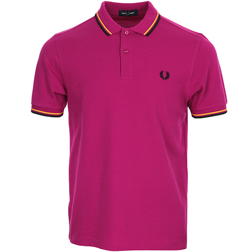 Fred Perry Twin Tipped Shirt - Rose