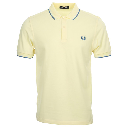 Fred Perry Twin Tipped Shirt - Beige