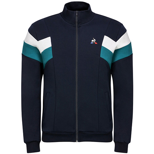 Chevron Full Zip Sweat
