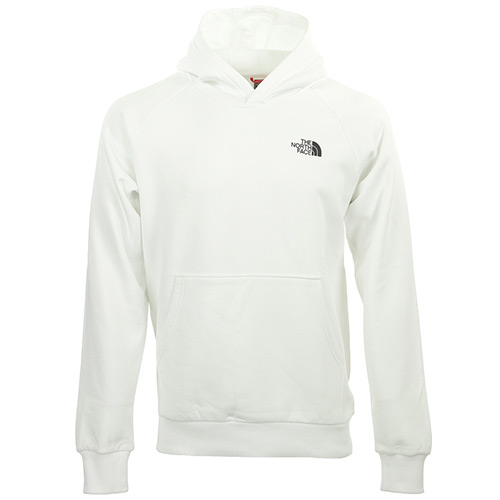The North Face Raglan Redbox Hoodie - Blanc