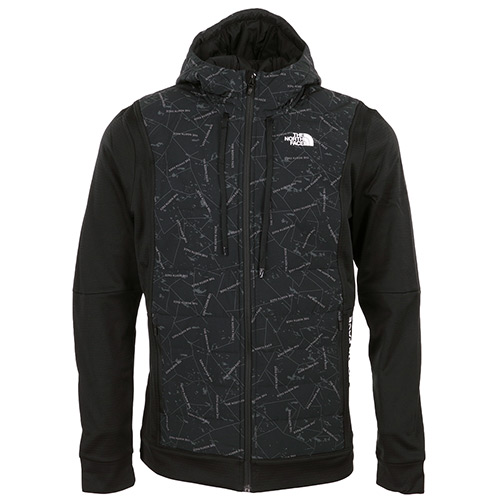 Train N Logo Hybrid Insulated Jacket