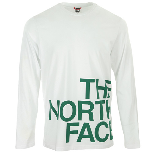 The North Face Graphic Flow LS - Blanc