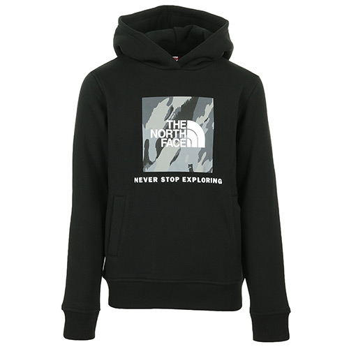 The North Face New Box Hoodie Kids - Noir
