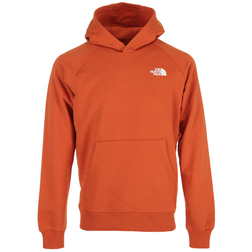 The North Face Raglan Redbox Hoodie - Orange