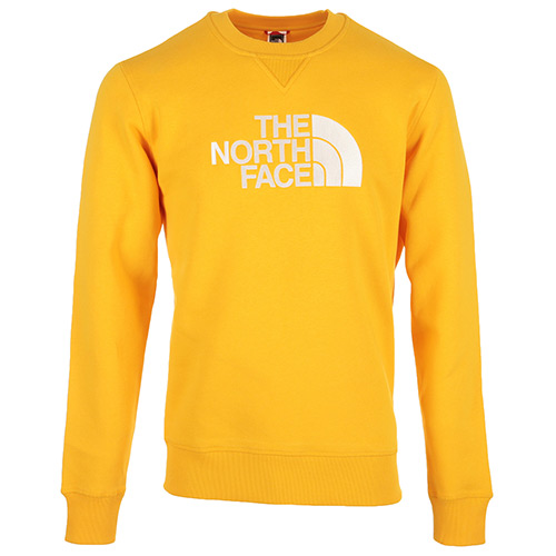 The North Face Drew Peak Crew - Jaune