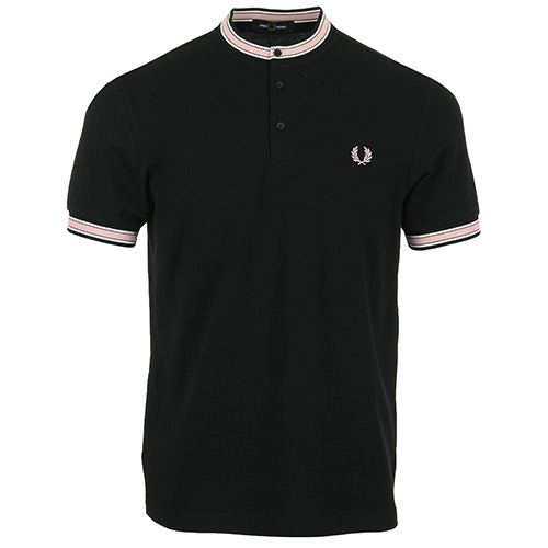 Tipped Henley Polo