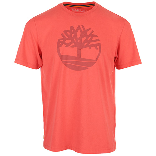 Timberland Kennebec River Brand Tee - Rouge