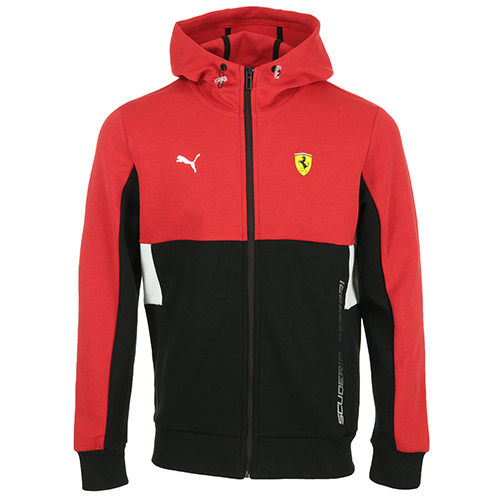 Ferrari Race Hooded Sweat Jacket