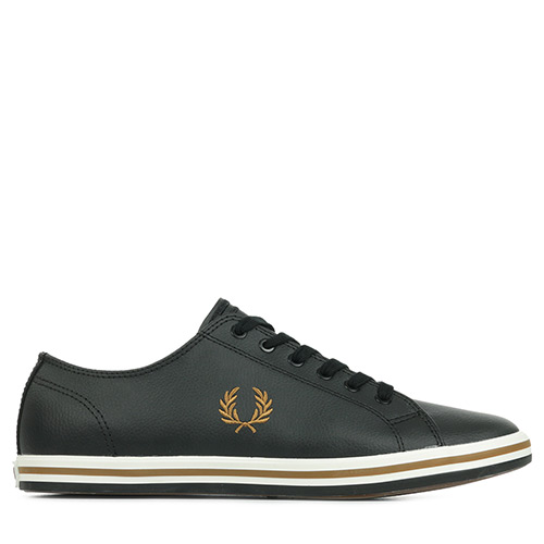 Fred Perry Kingston Leather - Noir
