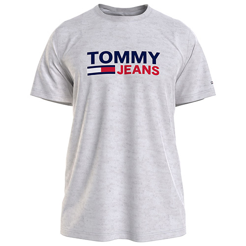 Tommy Hilfiger Corp Logo Tee - Gris