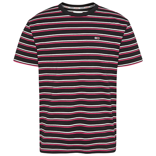 Two Tone Stripe Classic Tee