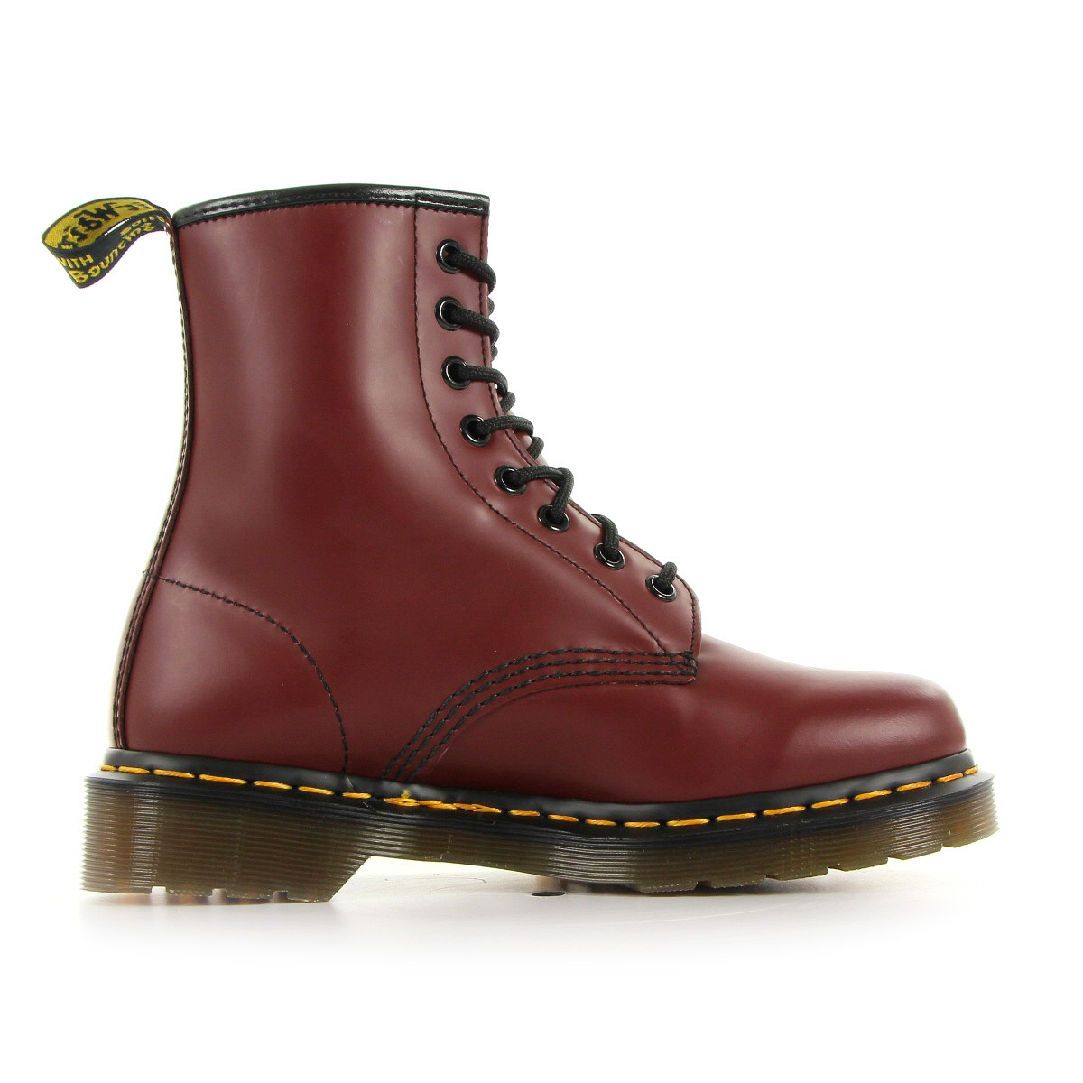bottines doc martens homme 1460 taille rouge cherry cuir. Black Bedroom Furniture Sets. Home Design Ideas