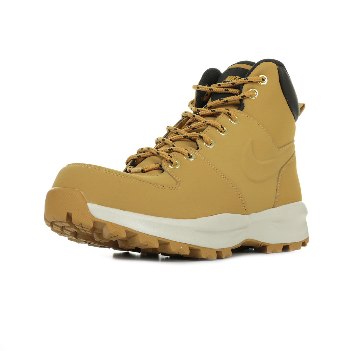 Détails sur Chaussures Nike homme Manoa leather Randonnée taille Brun Brune Cuir Lacets