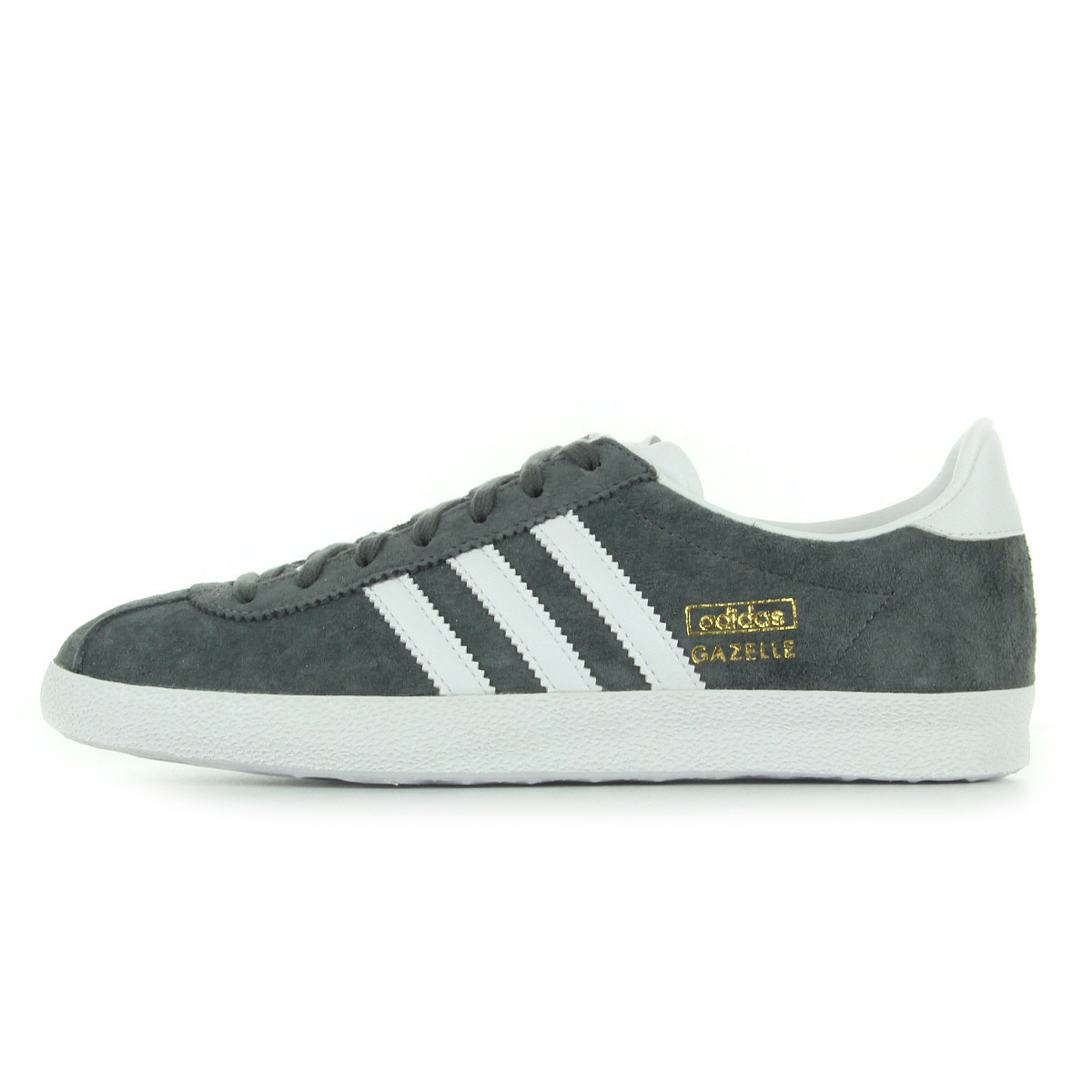 chaussures baskets adidas homme gazelle og taille gris grise cuir lacets ebay. Black Bedroom Furniture Sets. Home Design Ideas