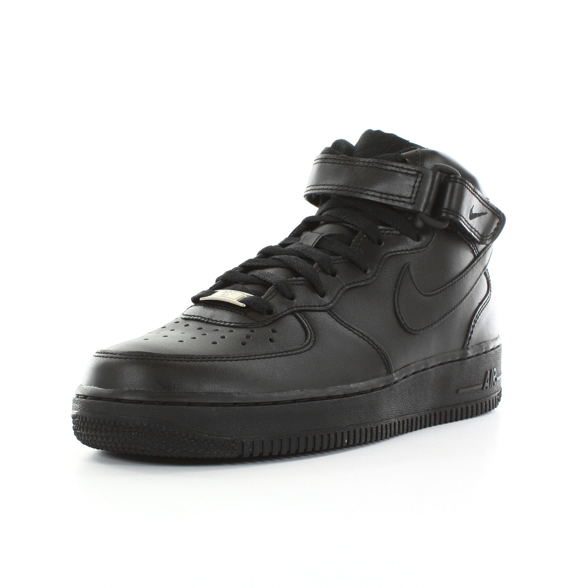 Chaussures Force Baskets Nike Homme Air Force Chaussures 1 Mid '07 Taille Noir Noire 228ee2