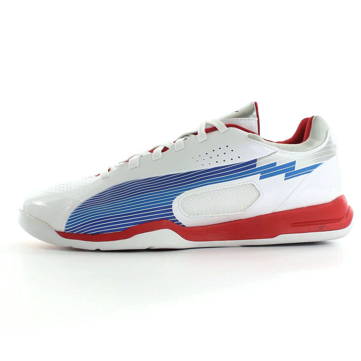 chaussures handball puma homme evospeed indoor 3 taille blanc blanche ebay. Black Bedroom Furniture Sets. Home Design Ideas