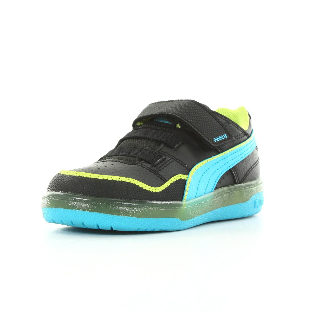chaussures baskets puma b b grifter light up kids taille. Black Bedroom Furniture Sets. Home Design Ideas