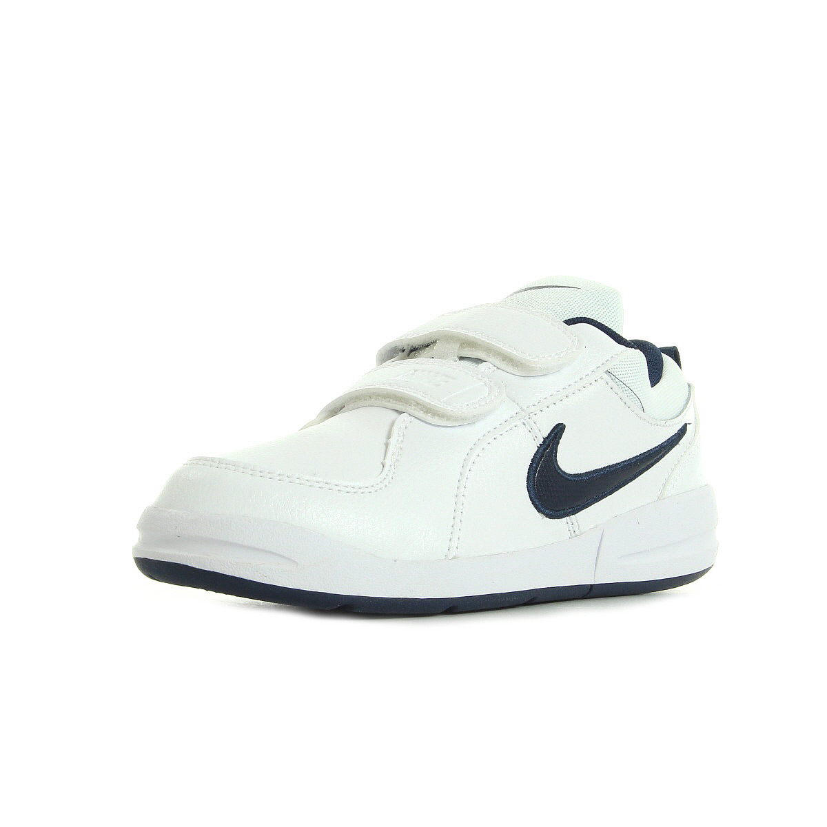 chaussures baskets mode nike garcon pico 4 psv taille blanc blanche cuir. Black Bedroom Furniture Sets. Home Design Ideas