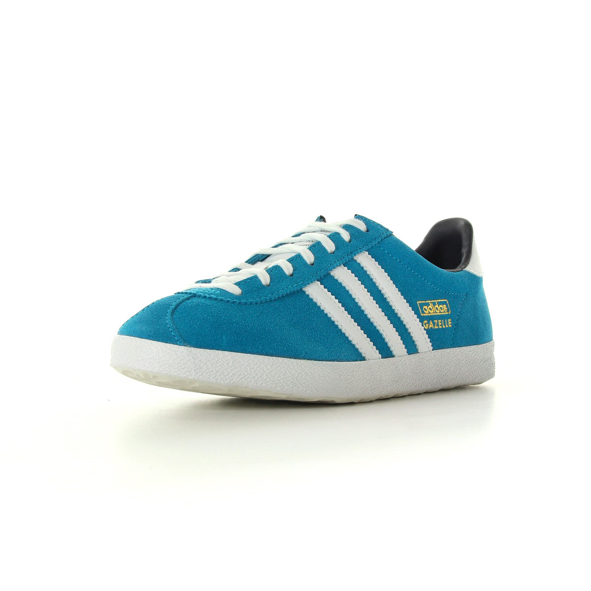 chaussures baskets adidas femme gazelle og w taille bleu turquoise bleue cuir ebay. Black Bedroom Furniture Sets. Home Design Ideas