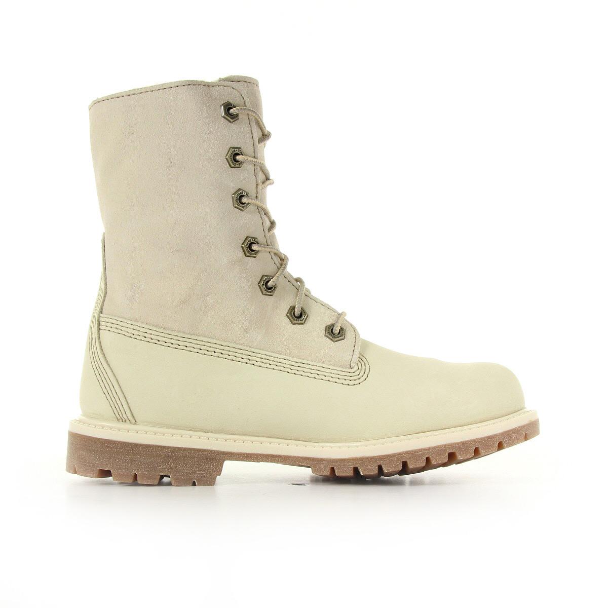 Bottes-Timberland-femme-Authentics-Teddy-Fleece-Winter-White-taille-Beige-Cuir