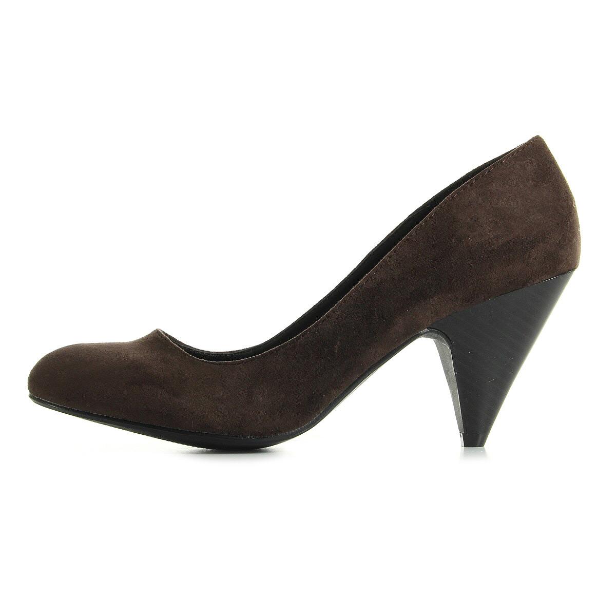 Chaussures Escarpins La Redoute Cr Ation Femme Escarpins Taille Marron Ebay