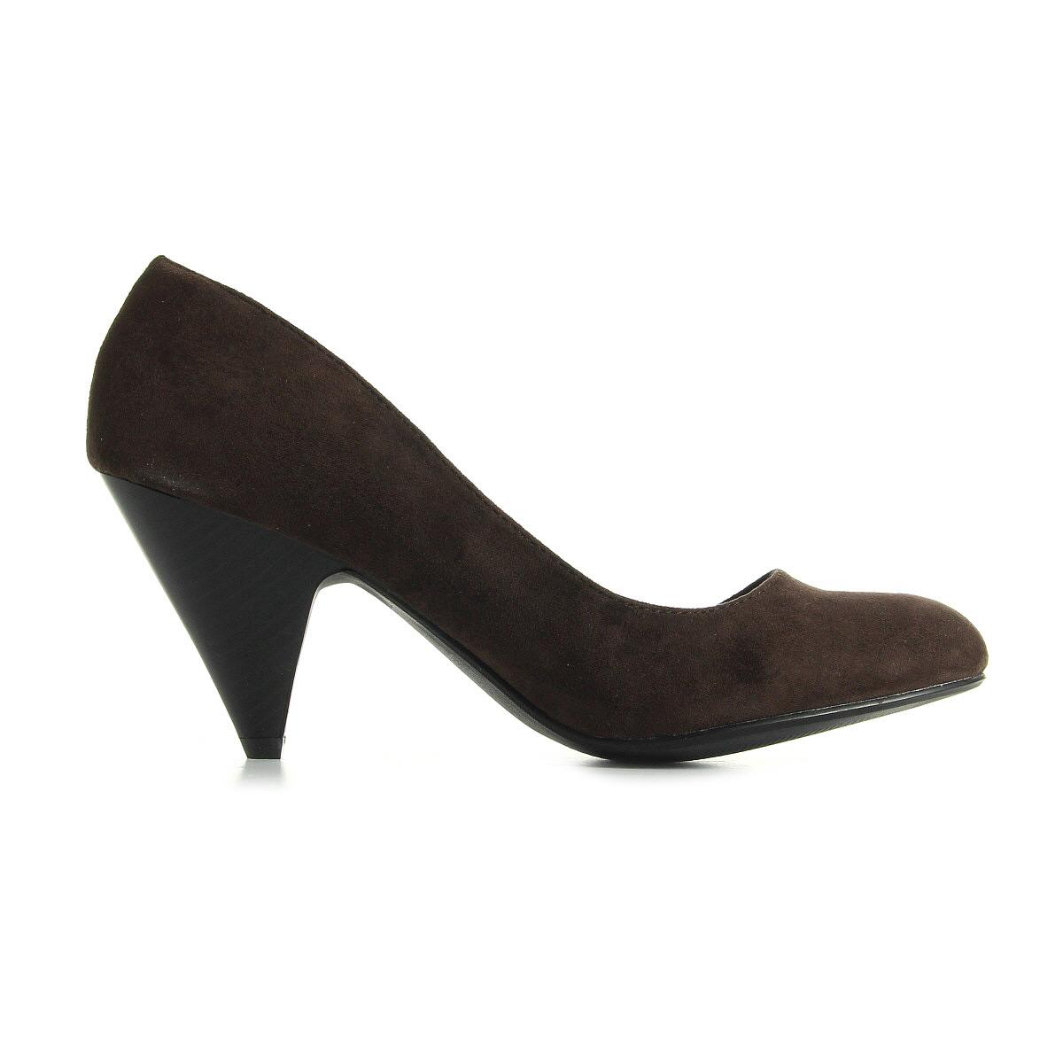 chaussures escarpins la redoute cr ation femme escarpins taille marron ebay. Black Bedroom Furniture Sets. Home Design Ideas