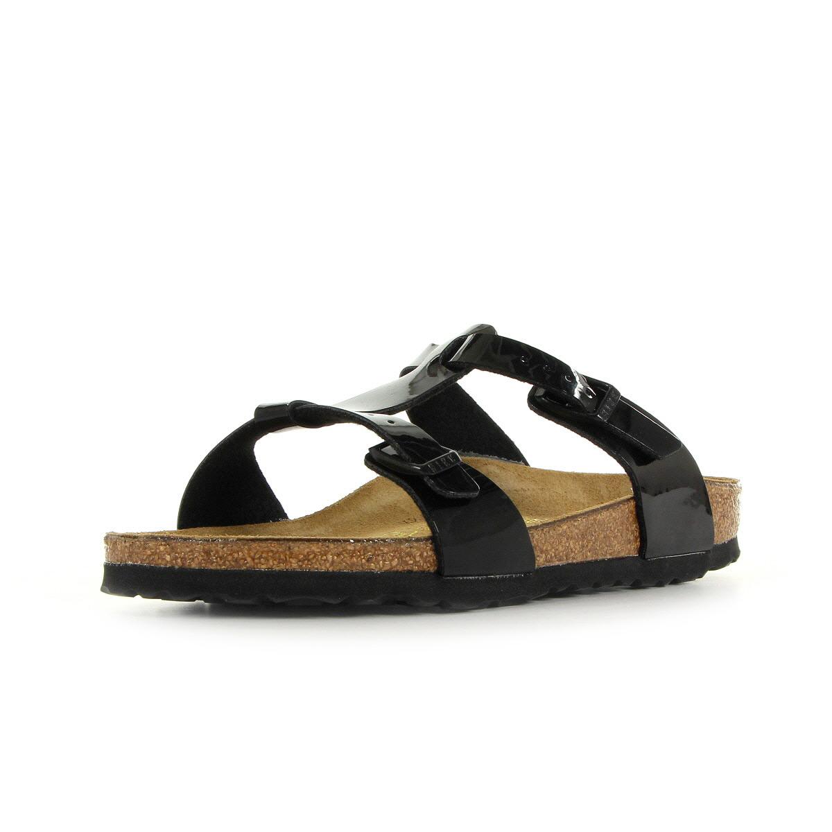 sandales nu pieds birkenstock femme larisa taille noir. Black Bedroom Furniture Sets. Home Design Ideas