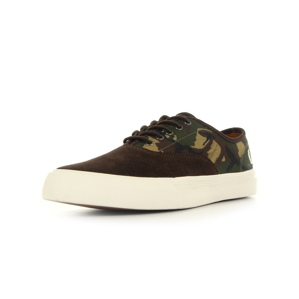 sneaker schuhe fred perry herren clarence camo braun leder. Black Bedroom Furniture Sets. Home Design Ideas