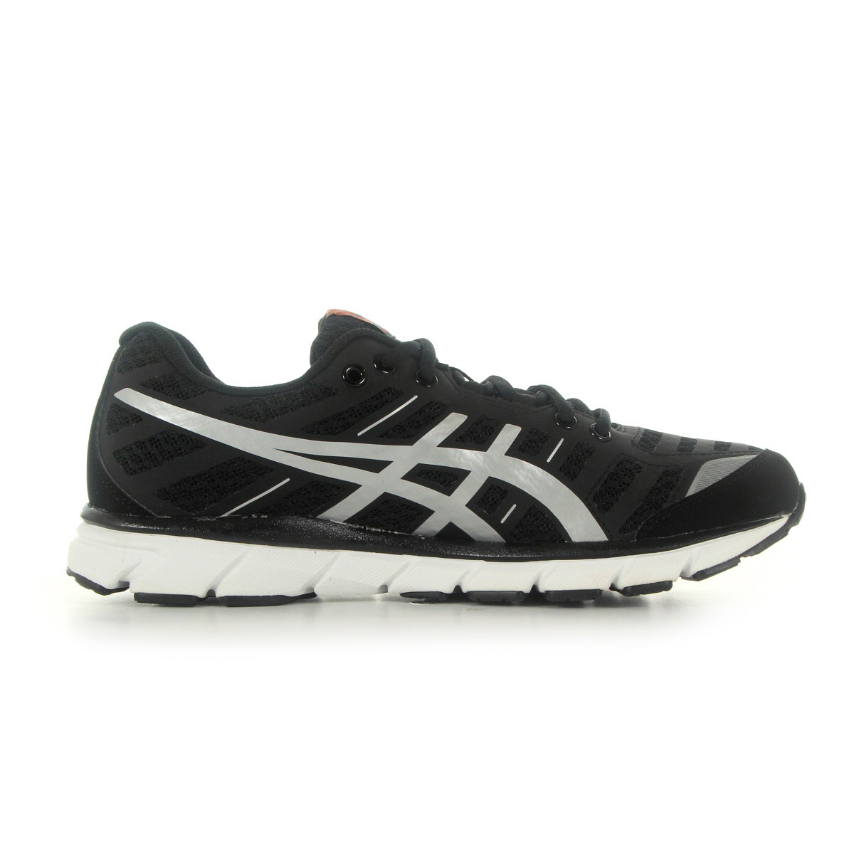 chaussures asics homme gel zaraca 2 running taille noir noire textile lacets ebay. Black Bedroom Furniture Sets. Home Design Ideas