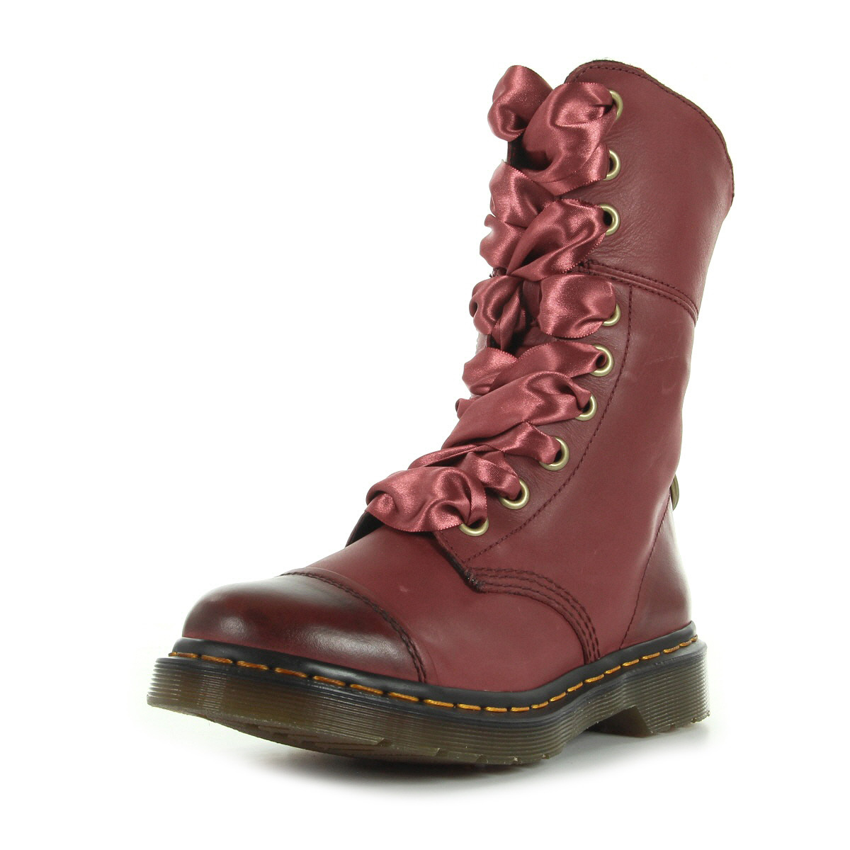 bottes doc martens bordeaux. Black Bedroom Furniture Sets. Home Design Ideas