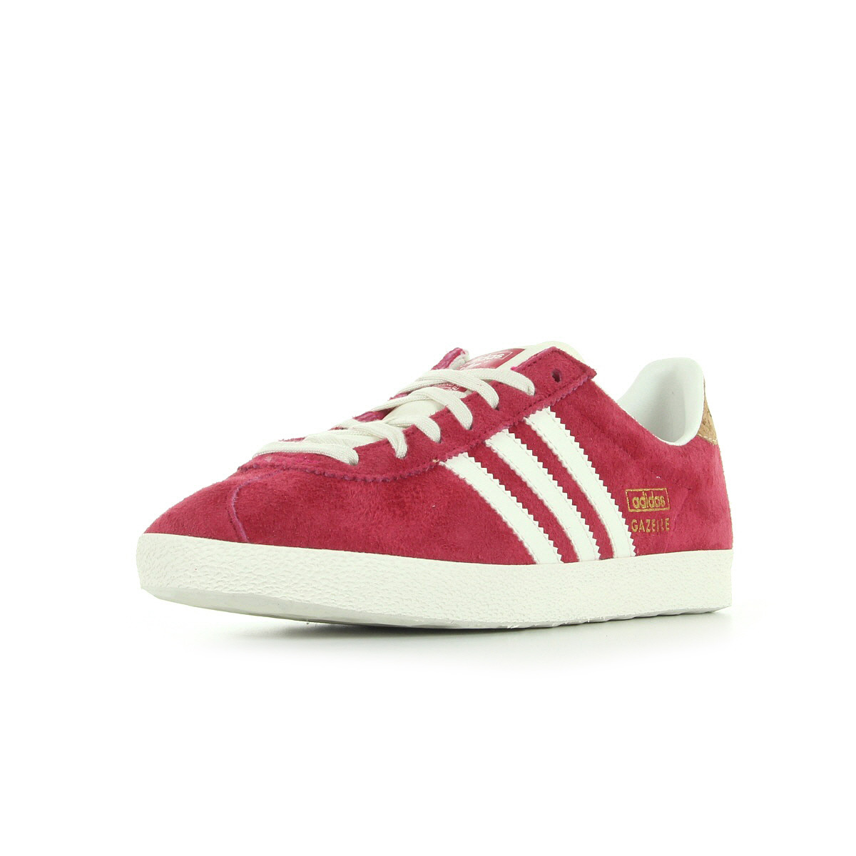 chaussures baskets adidas femme gazelle og w taille rose cuir lacets ebay. Black Bedroom Furniture Sets. Home Design Ideas
