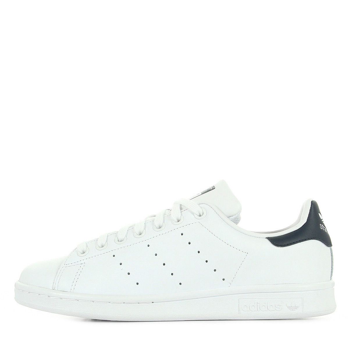 chaussures baskets adidas homme stan smith taille blanc blanche cuir lacets ebay
