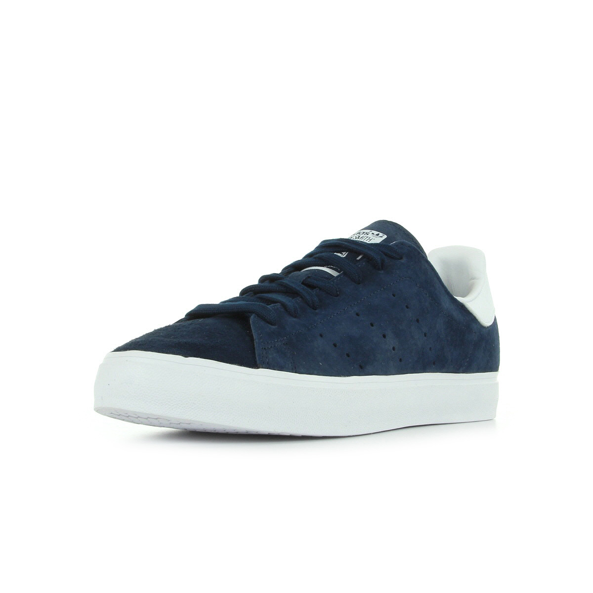 chaussures baskets adidas homme stan smith vulc taille bleu marine bleue cuir ebay. Black Bedroom Furniture Sets. Home Design Ideas