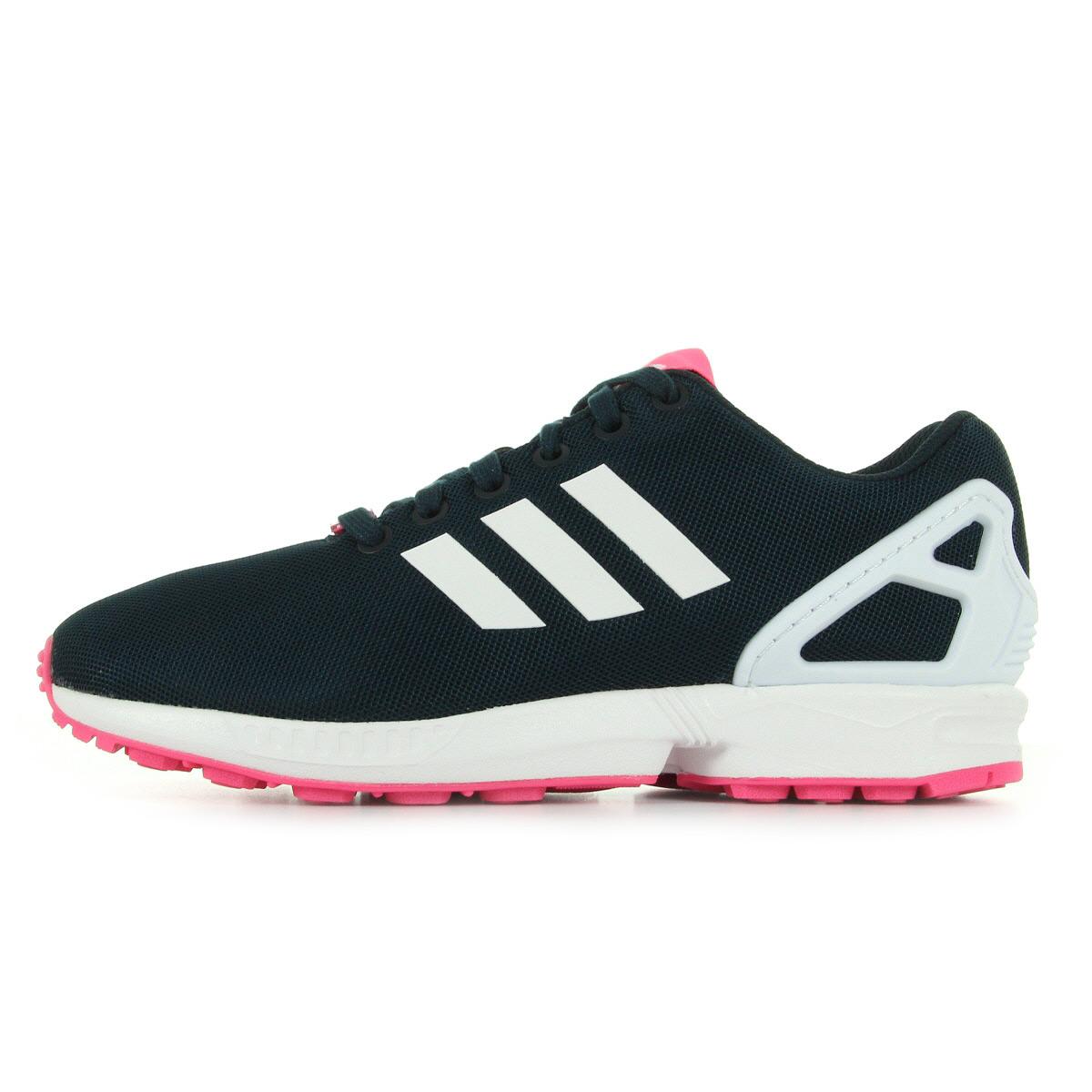 adidas zx flux rose foncer