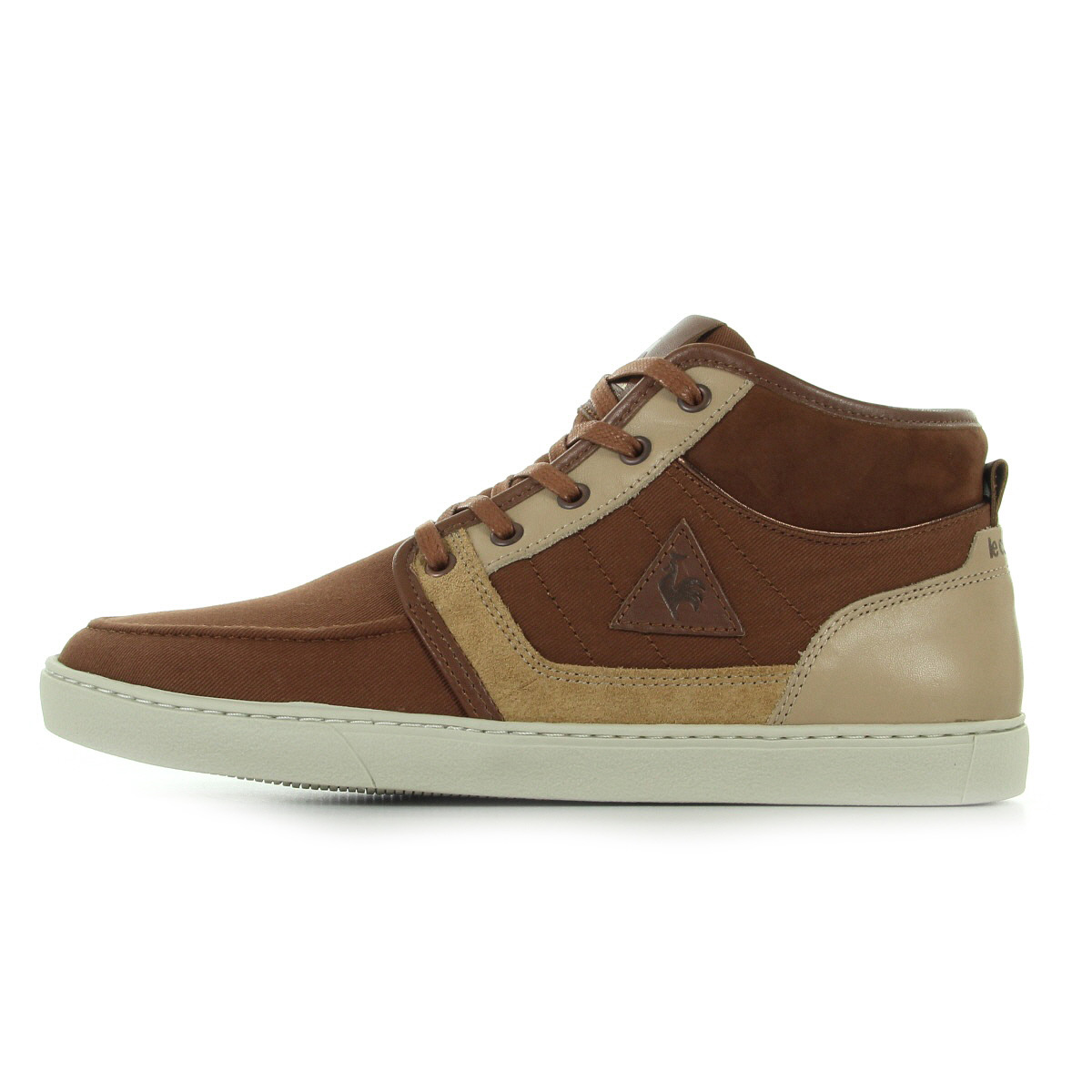 chaussures baskets le coq sportif homme perpignan demi cvs suede taille brun ebay. Black Bedroom Furniture Sets. Home Design Ideas