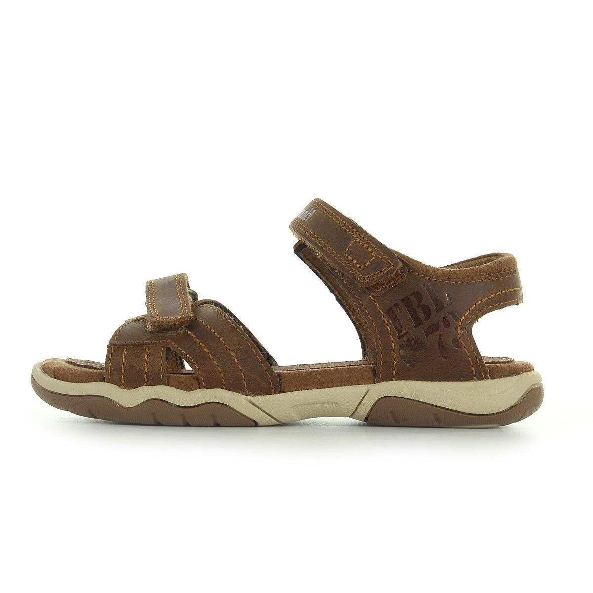 sandales nu pieds timberland gar on oakblffsekl taille marron cuir scratchs ebay. Black Bedroom Furniture Sets. Home Design Ideas