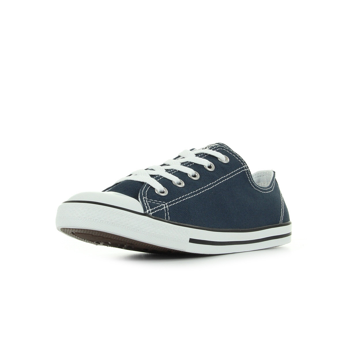 shoes Baskets Converse femme CT Dainty ox size blue marine bluee Textile