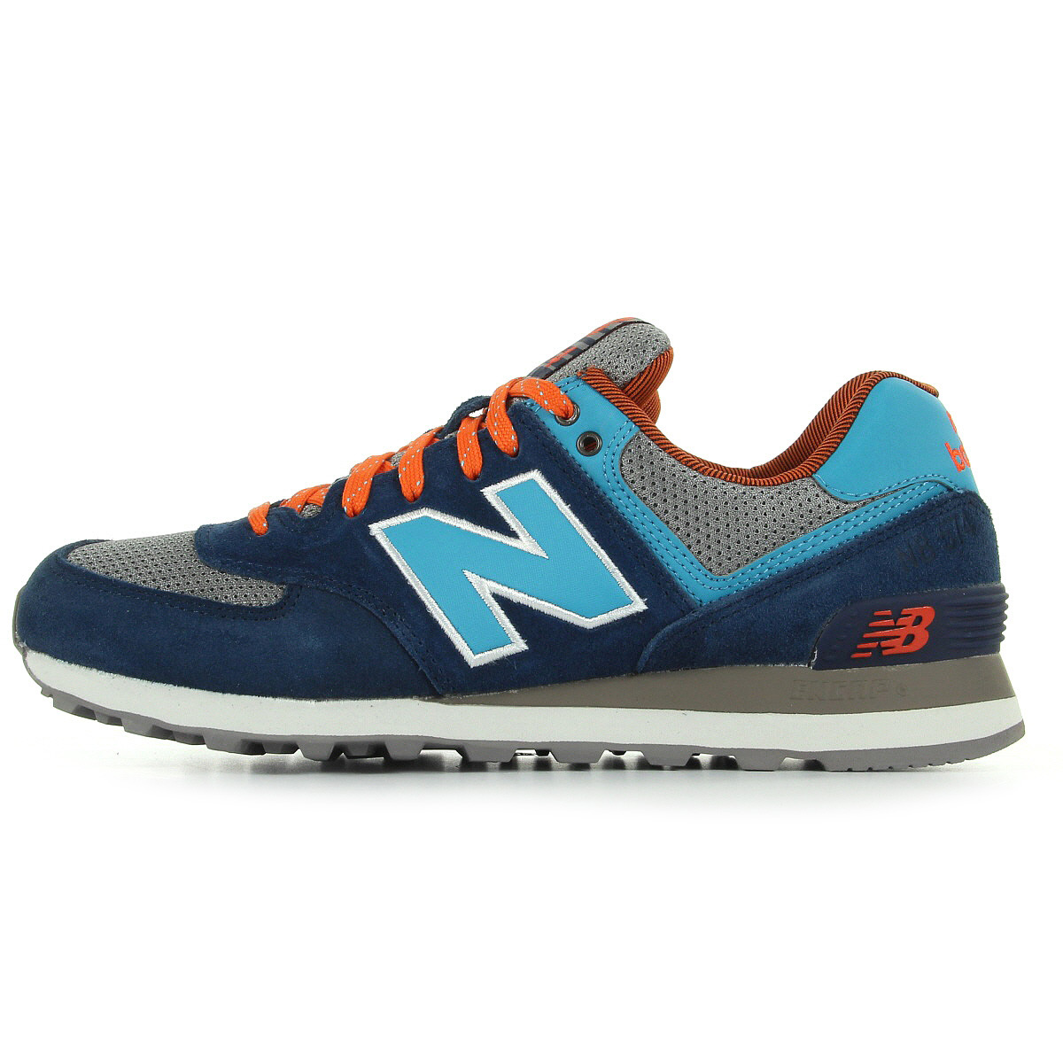 chaussures baskets new balance homme ml574 taille bleu. Black Bedroom Furniture Sets. Home Design Ideas