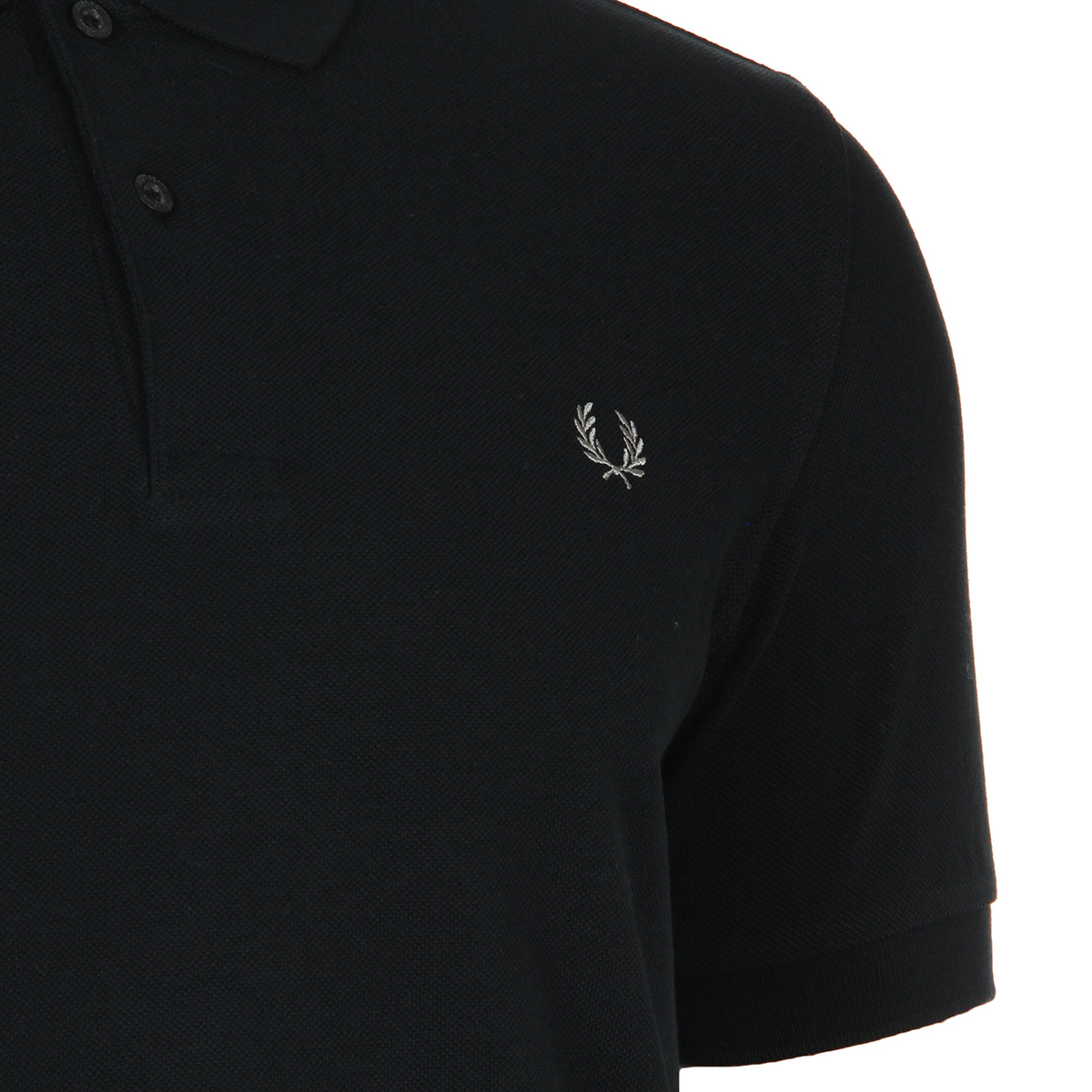 Fred Perry Plain Fred Perry Shirt Black M6000906, Polos homme