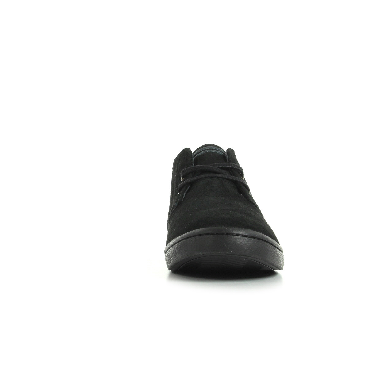 Fred Perry Byron Mid Suede Black B7400102, Baskets mode homme
